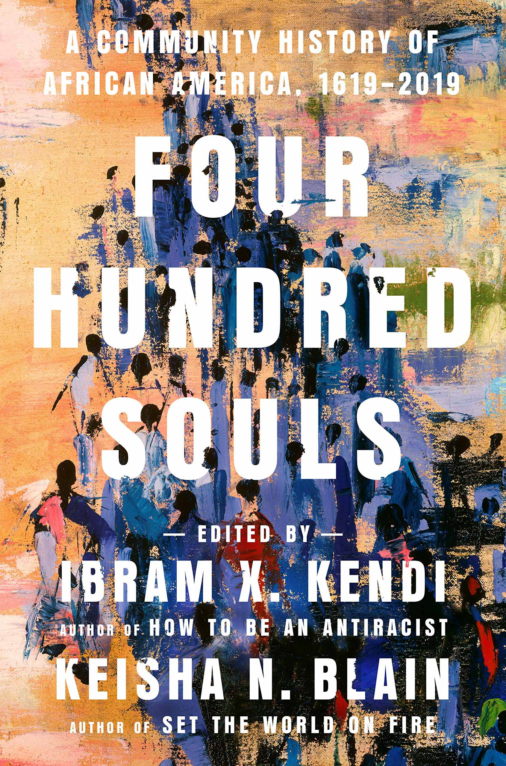 "Cover of ""Four Hundred Souls"" book"