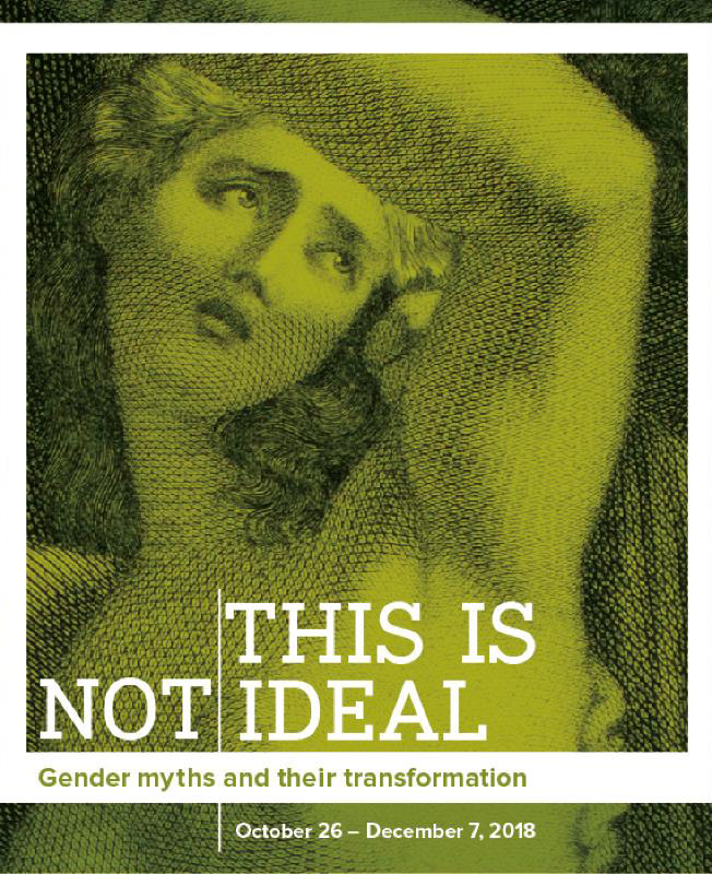 "Poster for ""This Is Not Ideal"" exhibit"
