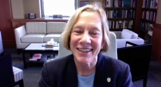 Provost Cudd in her office