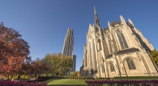 Heinz Chapel with Cathedral of Learning