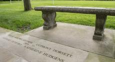 Tony Dorsett's name on the Varsity walk