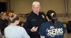 Pitt Police Chief James Loftus