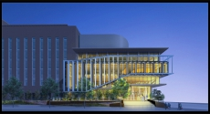 Scaife Hall addition rendering