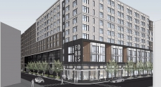 Rendering of 3500 Forbes building
