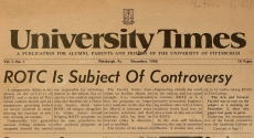 First University Times issue