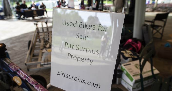 Sign for Pitt Surplus