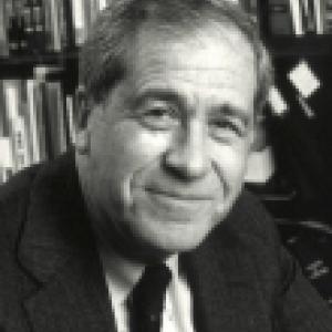 Bernard Fisher in library