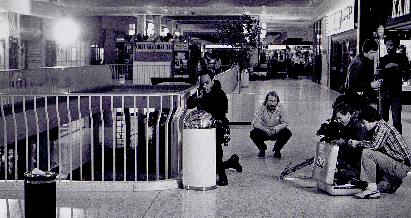 "Photo of from ""Dawn of the Dead"" set at Monroeville Mall"