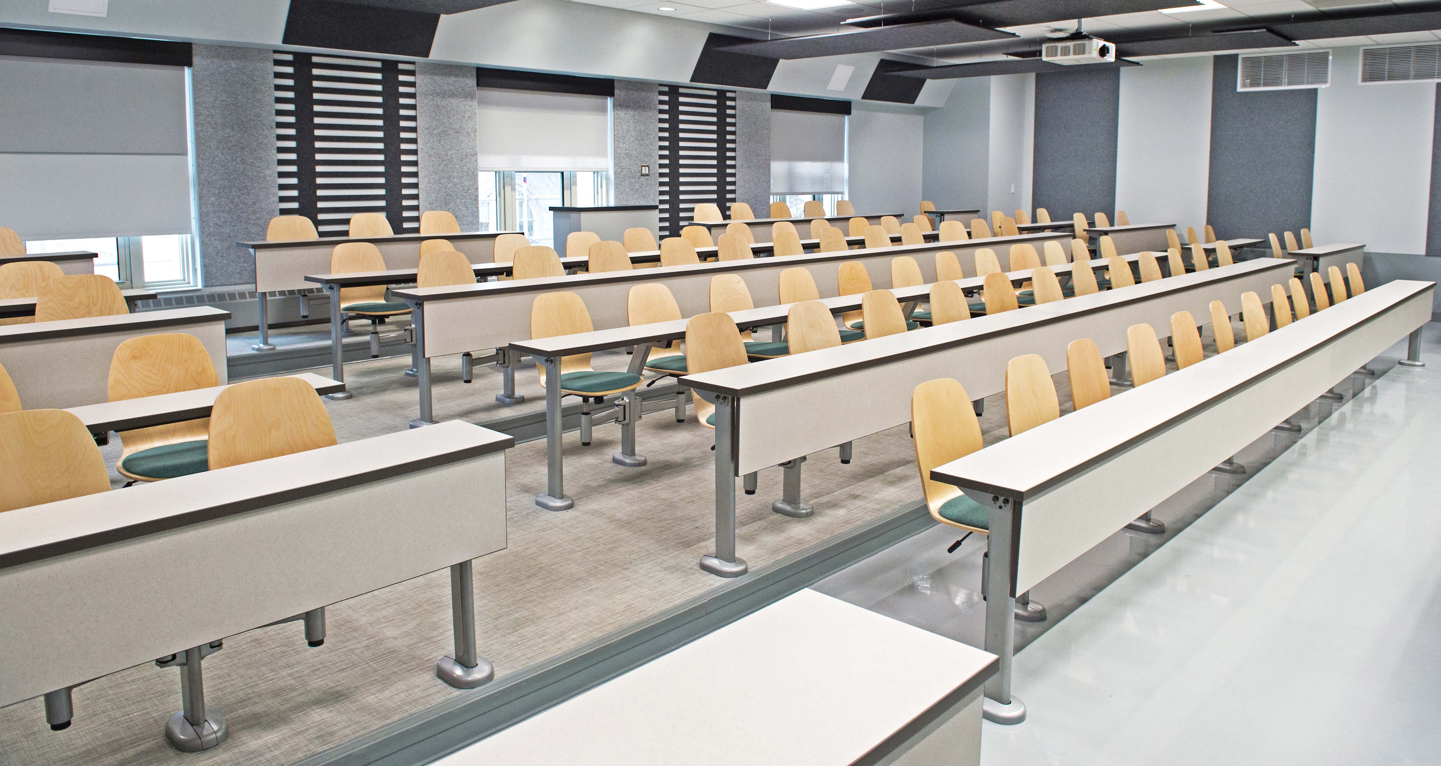 Redone Thaw Hall classroom