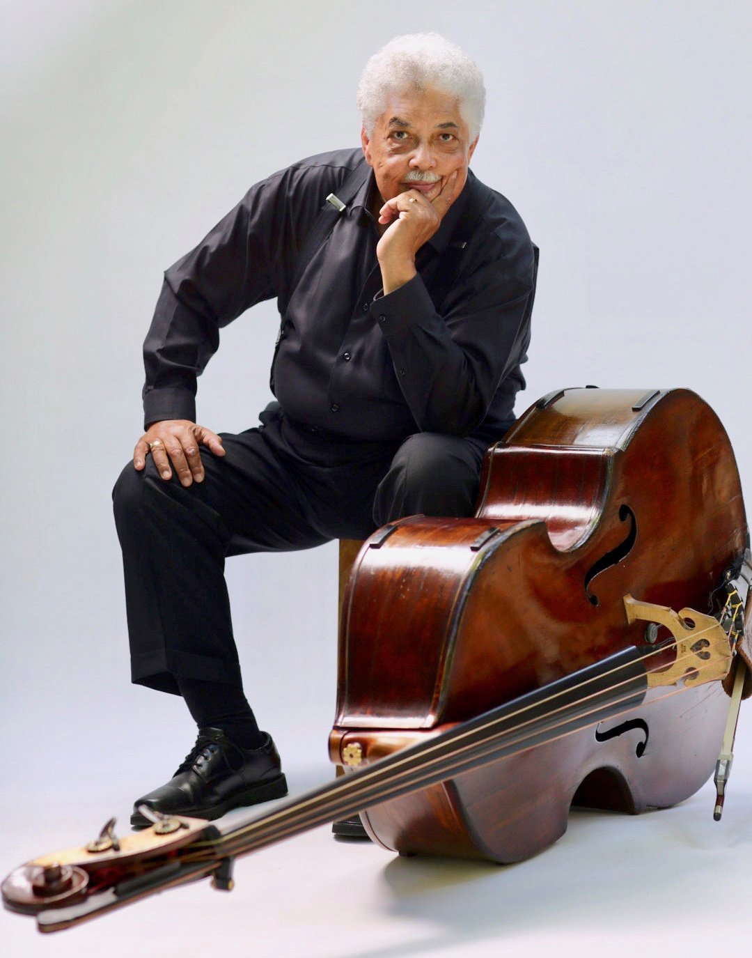 Rufus Reid and his bass
