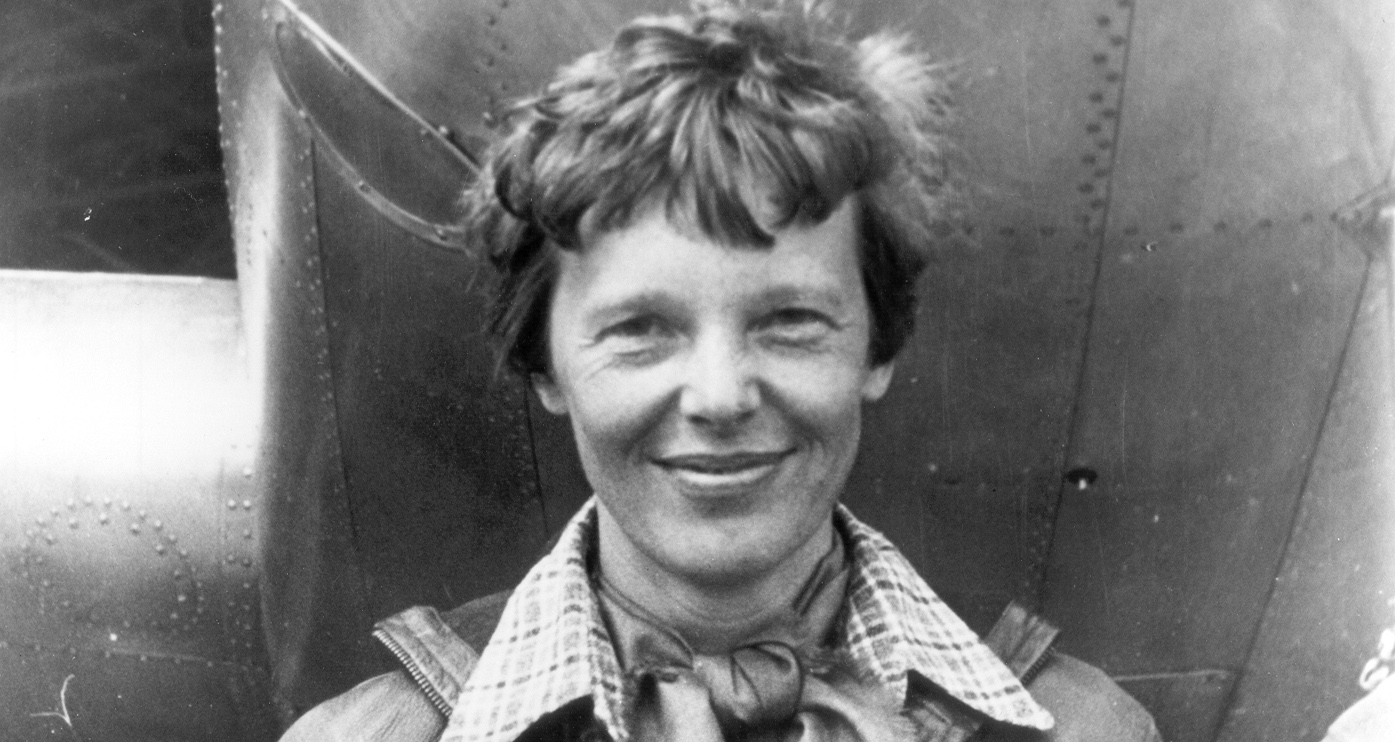 Historic photo of Amelia Earhart
