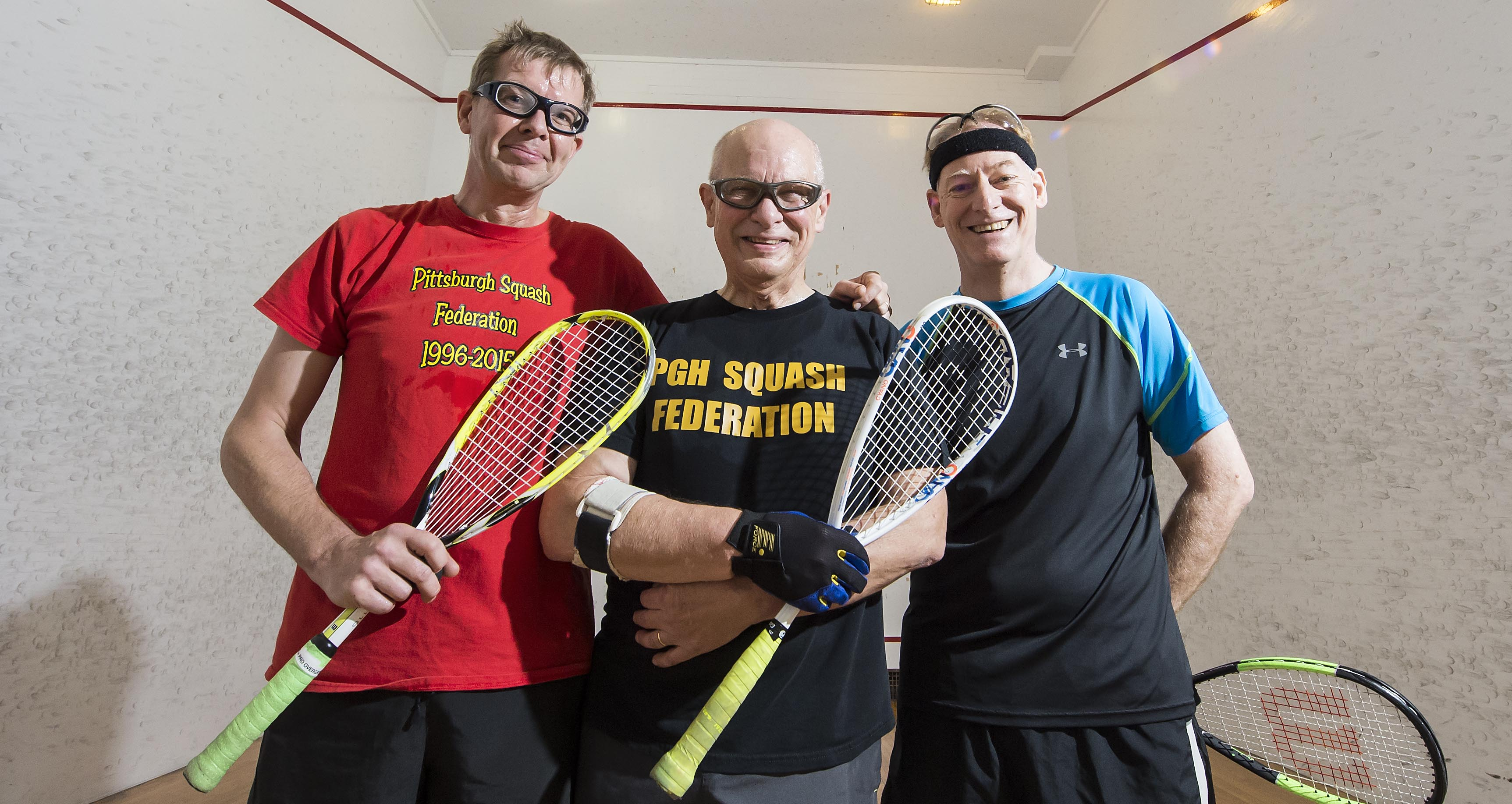Leaders of Squash Federation