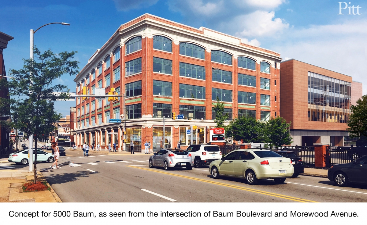 Proposed 5000 Baum Boulevard