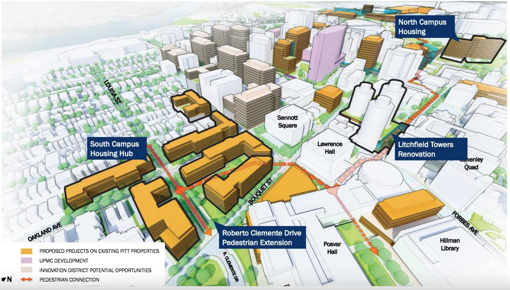 Ambitious master plan for Oakland campus about more than
