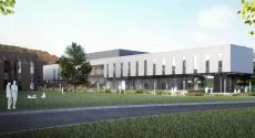 Rendering of engineering building