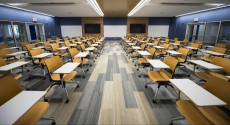 Posvar Hall renovated classroom
