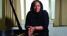 Geri Allen at piano
