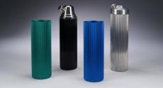 Aluminum containers featured in exhibit