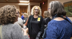 New women faculty gather at reception