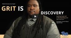 Screenshot of Pitt Grit video