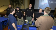 Pitt Police show off equipement