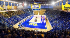 Rendering of new arena for volleyball
