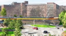 Boulevard of the Allies crossing rendering