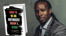 Ibram Kendi with book cover