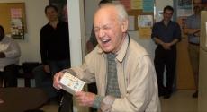 Joe Negri laughing