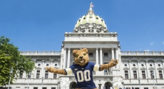 Roc the Panther in Harrisburg