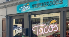 Baby Loves Tacos sign