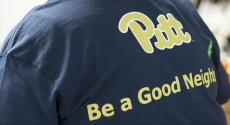 Pitt volunteer t-shirt