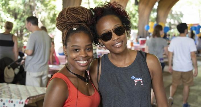 Cousins at Kennywood