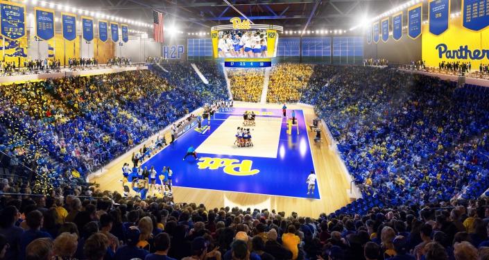 rendering of new arena