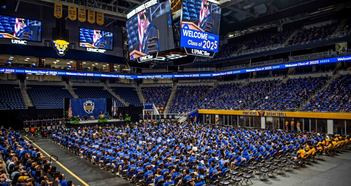 Class of 2025 gathers in Petersen Events Center