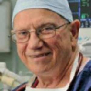 Jan Smith in hospital scrubs